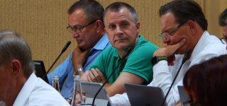 Pirmajame pokarantininiame tarybos posėdyje  - kovingai nusiteikusi opozicija (nuotraukos)