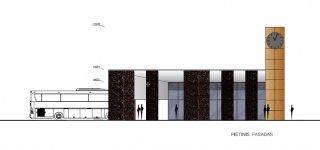 Pristatytas techninis projektas. Naujoji autobusų stotis - su išmaniu apšvietimu, dviračių nuoma bei dviem laikrodžiais