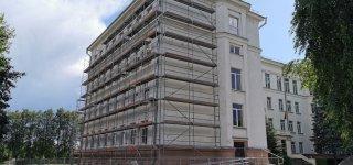 Prasidėjo Jurbarko gimnazijos pastato atnaujinimo darbai