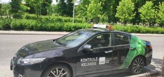 Staigmena vežėjams. VMI pradeda nuolatines patikras keliuose specialiai pažymėtais automobiliais