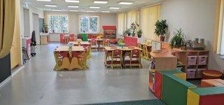 Rotulių lopšelyje-darželyje - šiuolaikinius reikalavimus atitinkančios modernios  patalpos