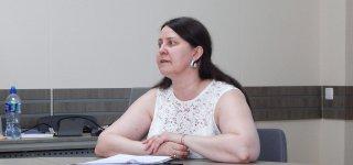Švietimo, kultūros ir sporto skyriaus vedėja Jolita Jablonskienė.