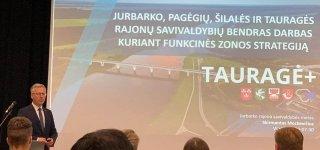 Funkcinės zonos Tauragė+ strategijos kūrimo gerąją patirtį pristatė forume Vilniuje