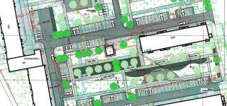 Miesto kvartalo projekto pristatyme - galvosūkis dėl vieno įvažiavimo