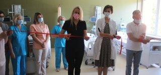 Sutelktumo pavyzdys: ligoninė per karantiną atnaujino vieno skyriaus patalpas ir įrangą (nuotraukos)
