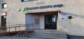 Jurbarko kredito unija, Dariaus ir Girėno g. 81A, Jurbarkas