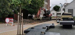 Pradėti Jurbarko miesto Kranto gatvės rekonstravimo darbai