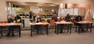 Karšuvos apygardos rinkėjai rinkimų dieną balsuoja kur kas pasyviau nei pirmajame ture