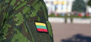 Už vairo sulaikytas Lietuvos kariuomenės karys