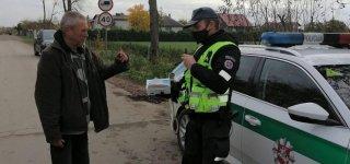 Policija patikrino, kaip gyventojai ir verslas laikosi saugumo reikalavimų