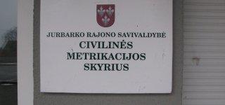 Dėl civilinės metrikacijos paslaugų galima kreiptis registruotu paštu ir per kurjerius