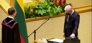 Prisiekė perrinktas Seimo narys Ričardas Juška