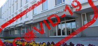 Ekstremalių situacijų komisija aptarė COVID-19 situaciją Jurbarko rajone