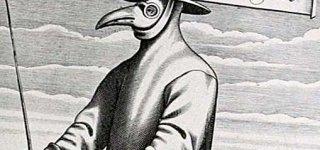 TOkiomi kaukėmis gydytojai saugodavosi nuo maro.