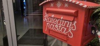 Bibliotekos kalėdinis paštas laukia laiškų knygų herojams