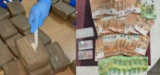 Jurbarke Pagėgių pasieniečiai sulaikė kokaino ir amfetamino už 6–7 mln. eurų