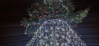 Jurbarke Naujųjų išvakarėse bus užgesintos eglučių šviesos