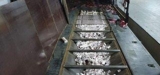 Praėjusių metų rekordas – sulaikytas didžiausias cigarečių kontrabandos kiekis institucijos istorijoje