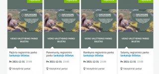 Tapk saugomų teritorijų bičiuliu: pirk Panemunių regioninio parko bilietą