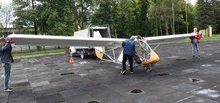 Mokomasis sklandytuvas jau Smalininkuose  – vyksta pirmosios aviacinės treniruotės