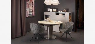 Valgomojo stalas: kaip išsirinkti jo stalviršį?