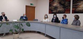 Baltosios lazdelės dieną aptarta aklųjų ir silpnaregių situacija Jurbarko rajone