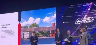 Tarptautiniame transporto ir inovacijų forume apdovanotos Tauragės regiono savivaldybės