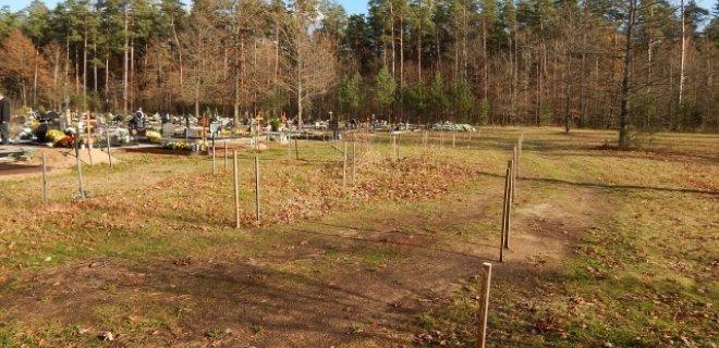 Naujosiose Jurbarko miesto kapinėse numatoma kolumbariumo statyba.