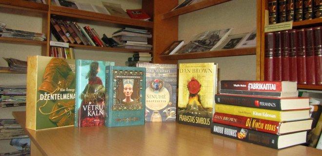 Smalininkų biblioteką papildė apie 80 beveik naujų knygų, kurias padovanojo smalininkietė Erika Radzvilavičiūtė, šiuo metu gyvena Vokietijoje.