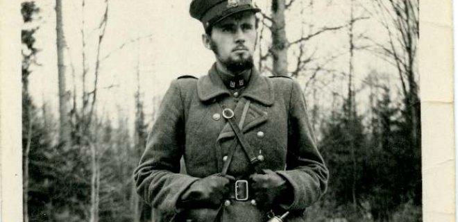 Partizanas Bronius Balašaitis-Benius. Ši ir dar viena nuotraukos yra iš Tauragės krašto muziejaus fondų.