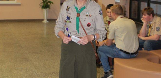 Vaida Beinarienė R. Marcinkaus skautų draugovei Naujamiesčio pagrindinėje mokykloje vadovauja nuo 2004-ųjų.