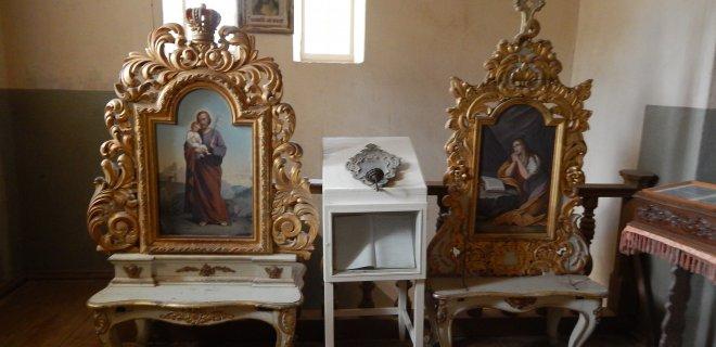 Zenonas pasakoja, kad šie paveikslai, dabar eksponuojami muziejuje, kažkada galėjo būti bažnyčios altoriuose.