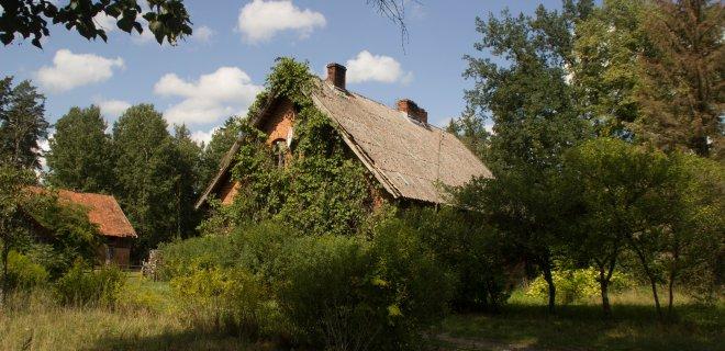 Buvusios Leipgirių girininkijos pastatas. Įdomi ne tik sodyba, bet ir vynuogė, kuri augo ir prie vokiečių girininko, ir prie lietuvio eigulio. / R. Bakšienės nuotr.