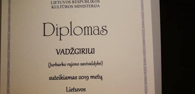 Vadžgirio kultūros namų nuotr.