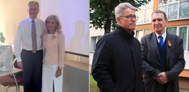 G. Mačiulaitienė prisijungė prie kandidato į prezidentus G. Nausėdos komandos. S. Lapėnas kol kas savęs įvardinti oficialiu kito kandidato A. Juozaičio komandos nariu negali.
