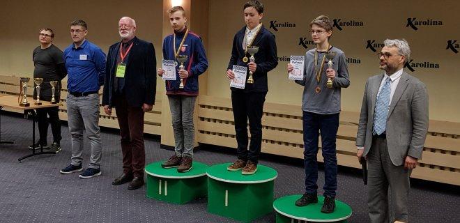 Neįtikėtas rezultatas: vienas iš Lietuvos šachmatų čempionato vicečempionų - jurbarkietis