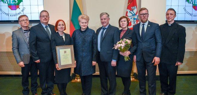Prezidentūros kanceliarijos /Roberto Dačkaus nuotr. nuotr.