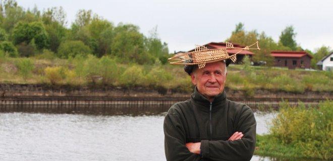 Štai kaip atrodo Žiobrių karalius. Skaniausius žiobrius Jurbarko krašte kepa Valteris Povilaitis iš Palėkių kaimo.