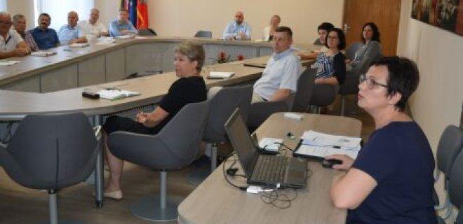 Susitikime su Jurbarko r. savivaldybės atstovais / Jurbarko r. savivaldybės nuotr.