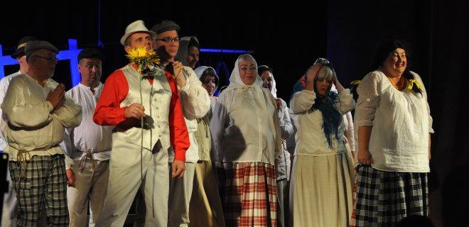 Skirsnemunės mėgėjų teatro kolektyvas padovanojo premjerą / Monikos Kazakevičiūtės nuotr.