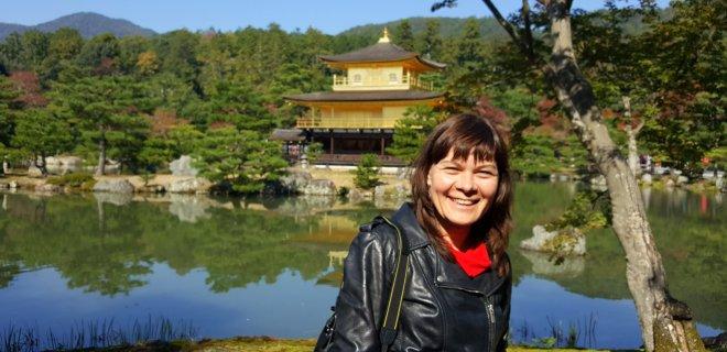 Kinkakudži pagoda (Auksinė šventykla) Kiote. Japonija / asmeninio archyvo nuotr.