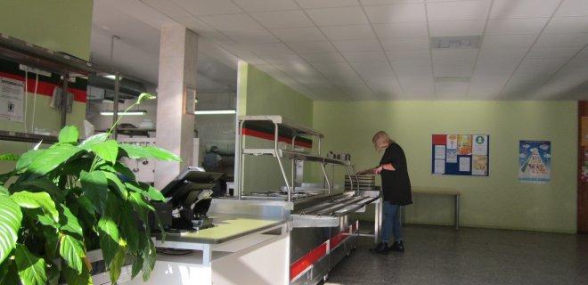 Atnaujinta Naujamiesčio progimnazijos valgykla ir virtuvė / Redakcijos archyvo nuotr.