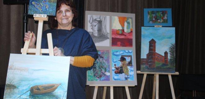 A. Sodeikos meno mokyklos suaugusiųjų studijų programos mokinė