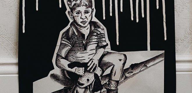 Mato piešinys, įverttintas respublikiniame konkurse