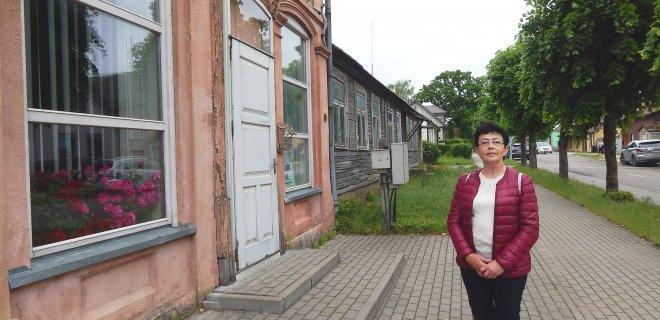 Kultūros paveldo departamento Tauragės skyriaus vyr. specialistė Margarita Karūnienė