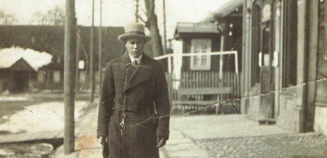 Vaistinės pastatas 1932 metais. / A. Puidokaitės archyvo nuotr.