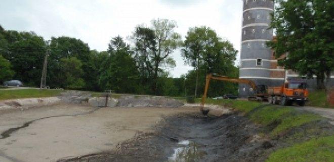 Išvalytas pirmasis tvenkinys. KPD Tauragės skyriaus nuotrauka nuotr.
