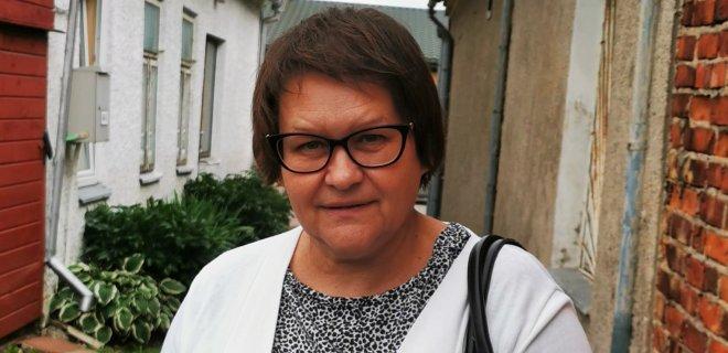 Žydiškąją Jurbarko krašto istoriją tyrinėjanti Nijolė Paulikienė.ti Nio