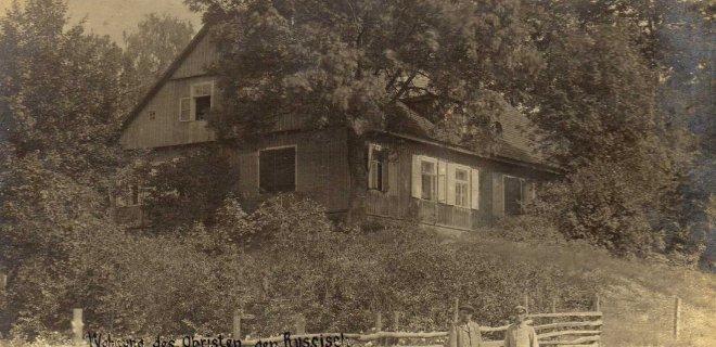 Jurbarko Vilniaus gatvėje eančiame pastate veikė žydų gimnazija. Šis pastatas iki šiol stovi. / Jurbarko krašto muziejaus archyvo nuotr.