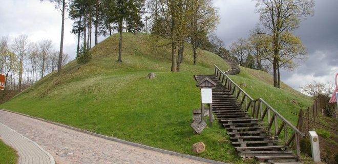 Gedimino kalnas, arba Gedimino kapo kalnas / Kultūros paveldo departamento archyvo nuotr.